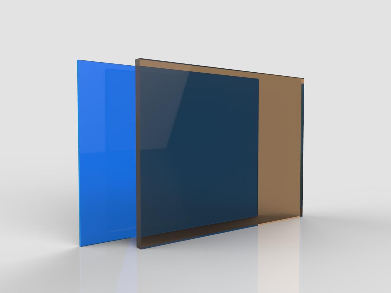 Lastre policarbonato compatto colorato